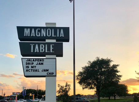 Our Seat At The Magnolia Table
