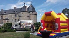 Location de Châteaux Gonflables Château de Lavaux-Sainte-Anne
