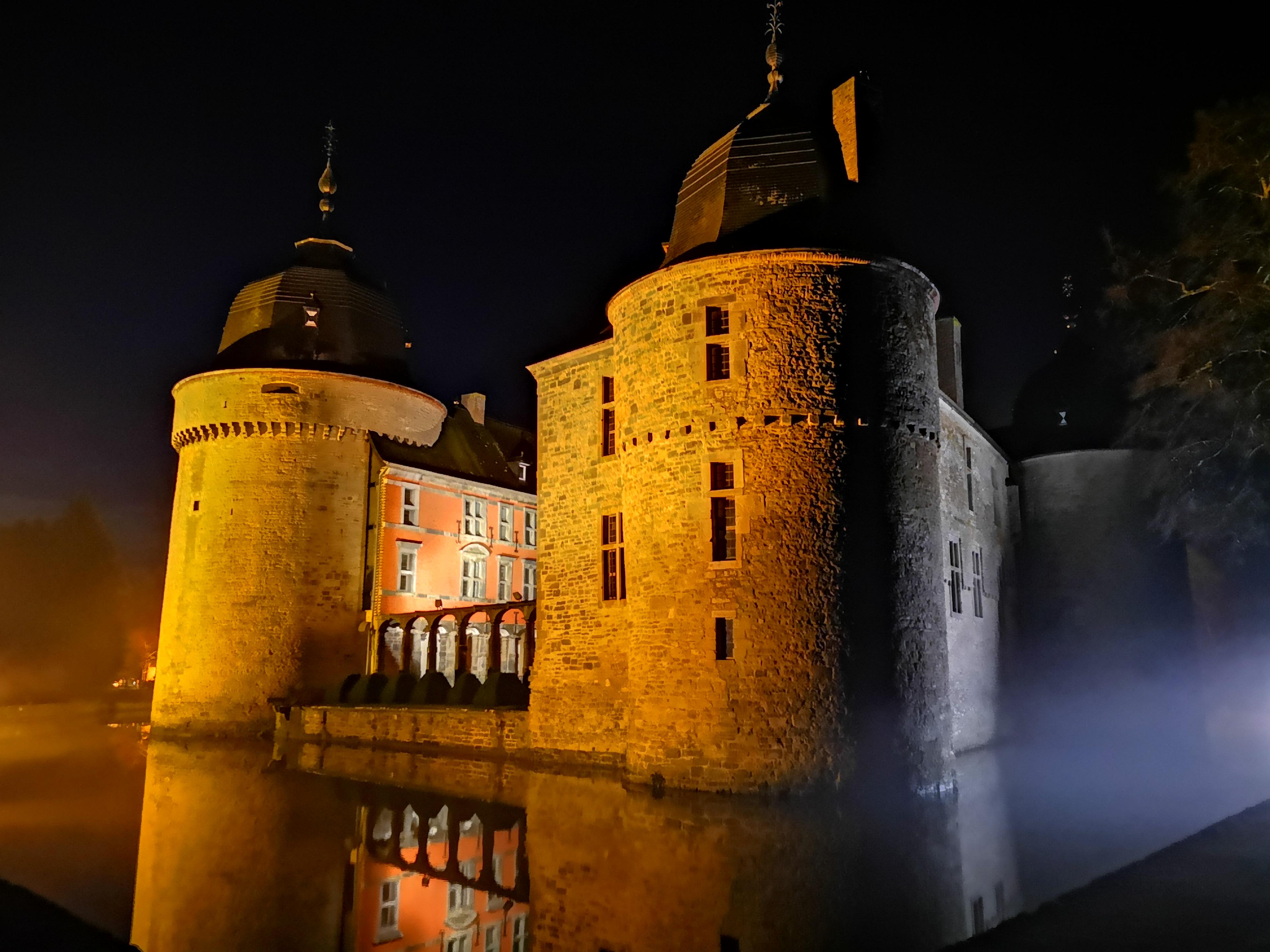 L'éclairage du Château