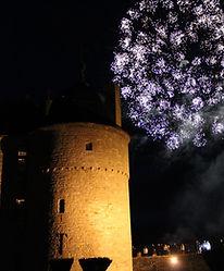 feux d'artifice Mariage au château de Lavaux-Sainte-Anne