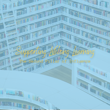 Supporting lifelong learning: the second pillar of influence