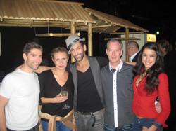 Chris,Magda,Massimo,Rebecca