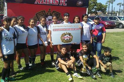 CYSA Valencia Girls por su Sub-Campeonat