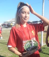 Litzy Franco Liverpool Campeona Goleador