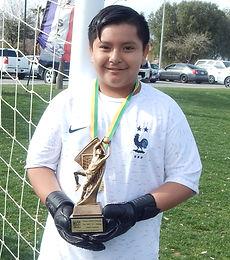 Angel Escalona del equipo Xolitos el mej