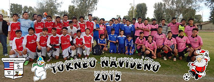 torneo navideno de CYSA christmas tournament