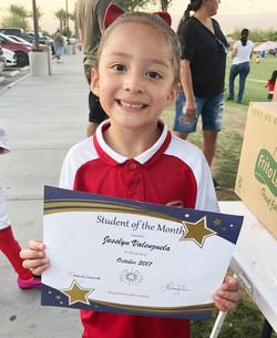 Jesslyn Valenzuela  toritos neza 2012