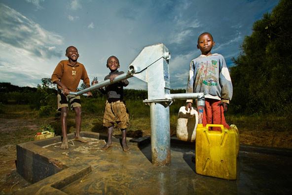 Charity Water, sensores de água