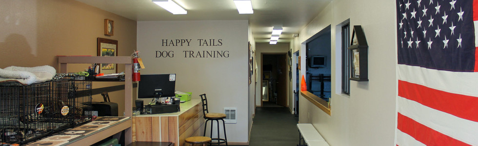Entryway. Welcome to Happy Tails!