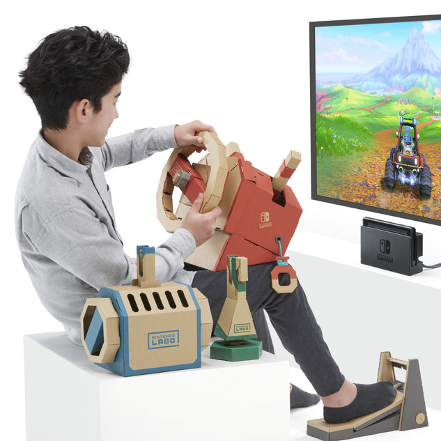 Nintendo Labo, do digital ao físico