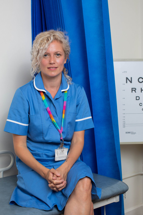 STEPHANIE SILVER (Actor/Writer - Peadatric Nurse)