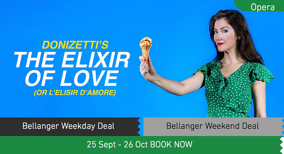 Donizetti The Elixir Of Love L'Elisir D'Amore King's Head Theatre]