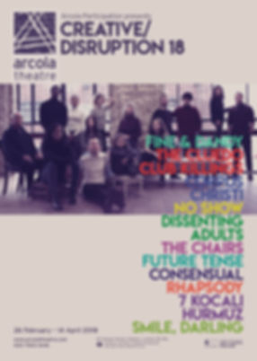 Arcola Theatre, Creative Disruption