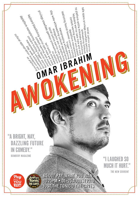 Omar Ibrahim Awokening Ali Wright Theatre Photography