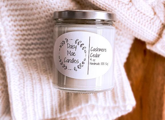 Cashmere Cedar - 9 oz Candle