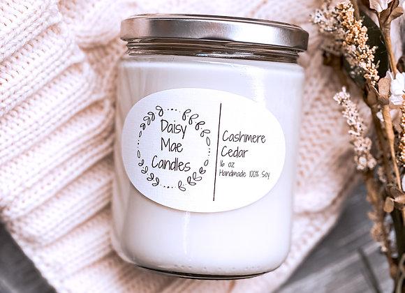 Cashmere Cedar - 16 oz Candle
