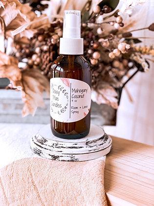 Mahogany Coconut - 4 oz Room Spray