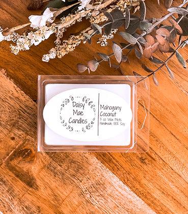 Mahogany Coconut - 3 oz Wax Melts