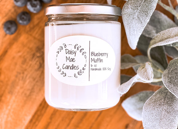 Blueberry Muffin - 16 oz Candle