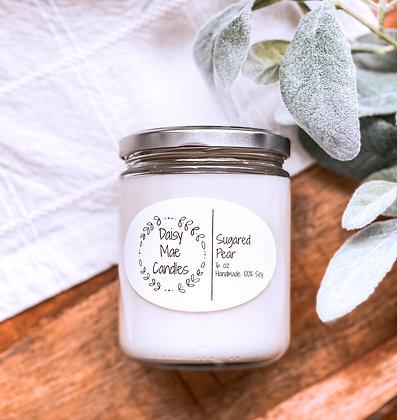 Sugared Pear - 16 oz Candle
