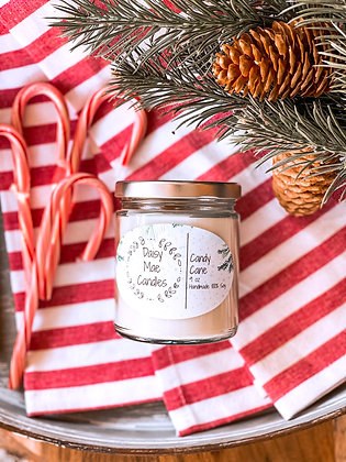 Candy Cane - 9 oz Candle
