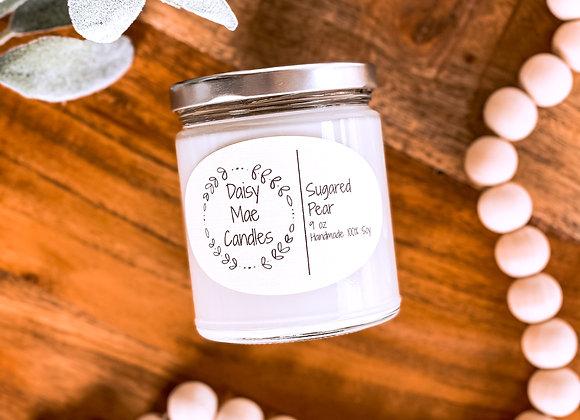 Sugared Pear - 9 oz Candle