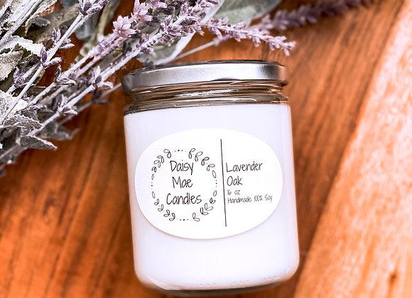 Lavender Oak - 16 oz Candle