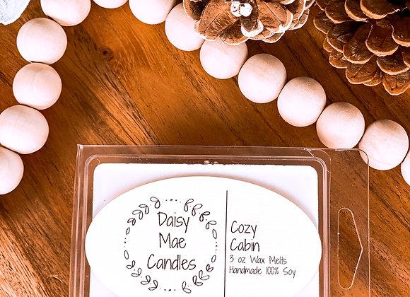 Cozy Cabin - 3 oz Wax melts