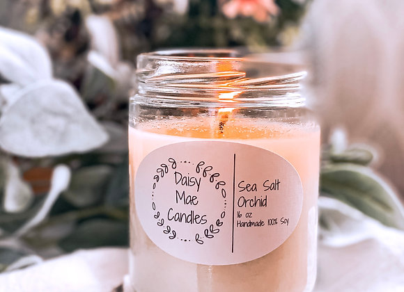 Sea Salt Orchid - 16 oz Candle