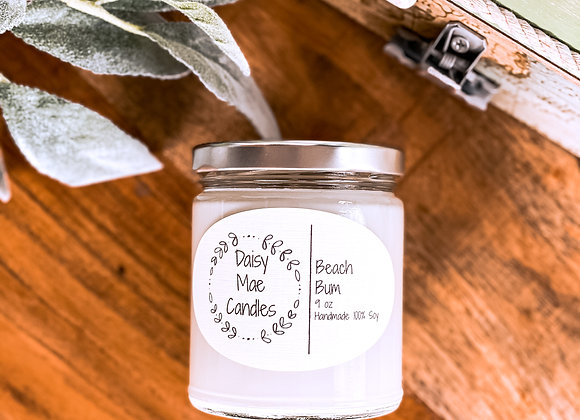 Beach Bum - 9 oz Candle