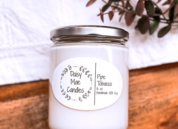 Pipe Tobacco - 16 oz Candle