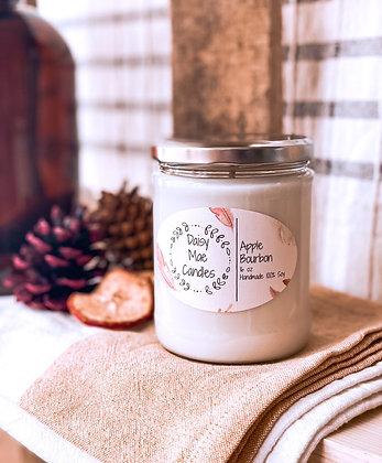 Apple Bourbon - 16 oz Candle