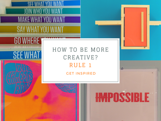 How to be more creative?