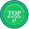 Wedding badge for Elite Weddings