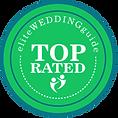 Wedding badge for Elite Weddings