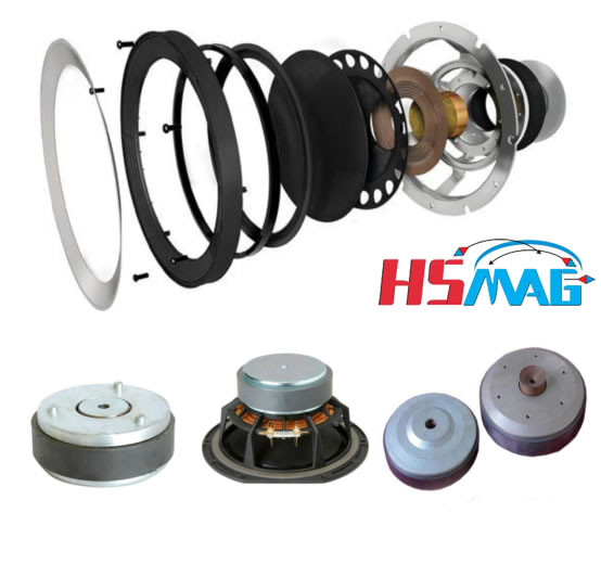Magnet Speaker Driver Diagram
