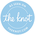 The Knot badge displaying and endorsing DFW Phoenix Films as a top wedding videography company in the area.