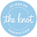 """""""As seen on the knot, the knot.com"""" endorsing our wedding video company DFW Phoenix Films."""