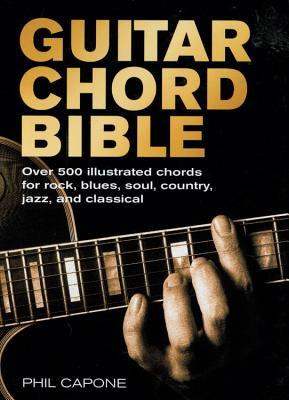 Guitar Chord Book by Phil Capone from Good Reads