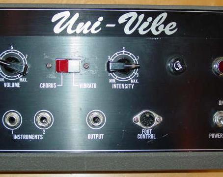 Good Vibes: The Classic Uni-Vibe