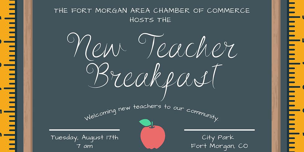 New Teacher Breakfast