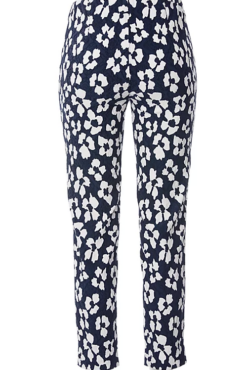 STARK - Leggings Jacky Fashion Print marine/white