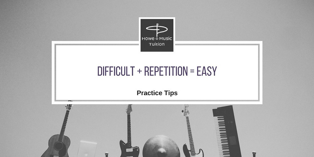 Difficult + Repetition = Easy