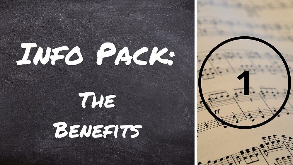 Info Pack for music lessons