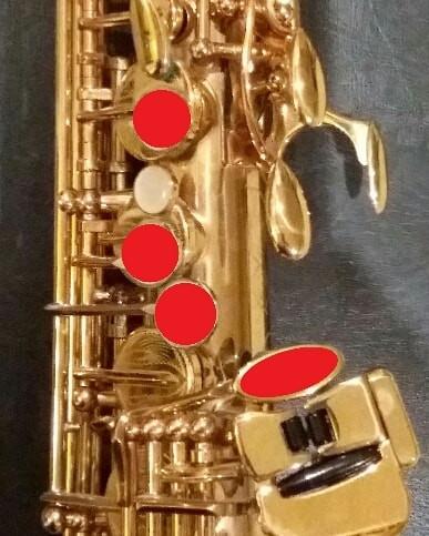 G# on Saxophone