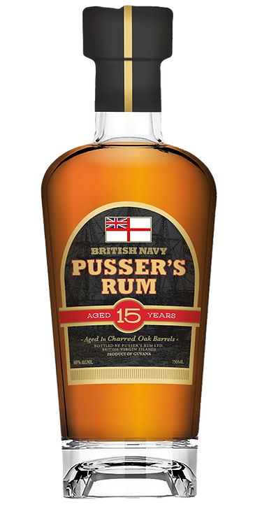 PUSSER'S AGED 15 YEARS