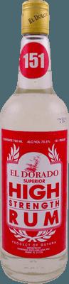 El Dorado Overproof 750ml 75.5%