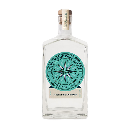 Mount Compass - Native Finger lime Gin 700ml 40% Abv