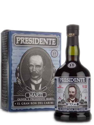 Presidente 15 Year 700ml 40% Abv