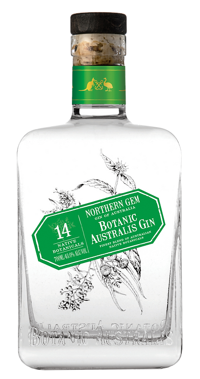 Mt. Uncle - Botanic Australis Northern Gem Dry Gin